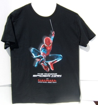 Pre-Owned Marvel The Amazing Spider-Man Promo Short Sleeve Medium T- Shirt - $12.95