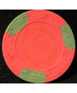 "$0.25 Casino Chip From: ""Macon County Poker Casino""- (sku#2767) - $1.69"