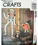 Craft Pattern 5018 Halloween Decorations to Make UNCUT - $6.99