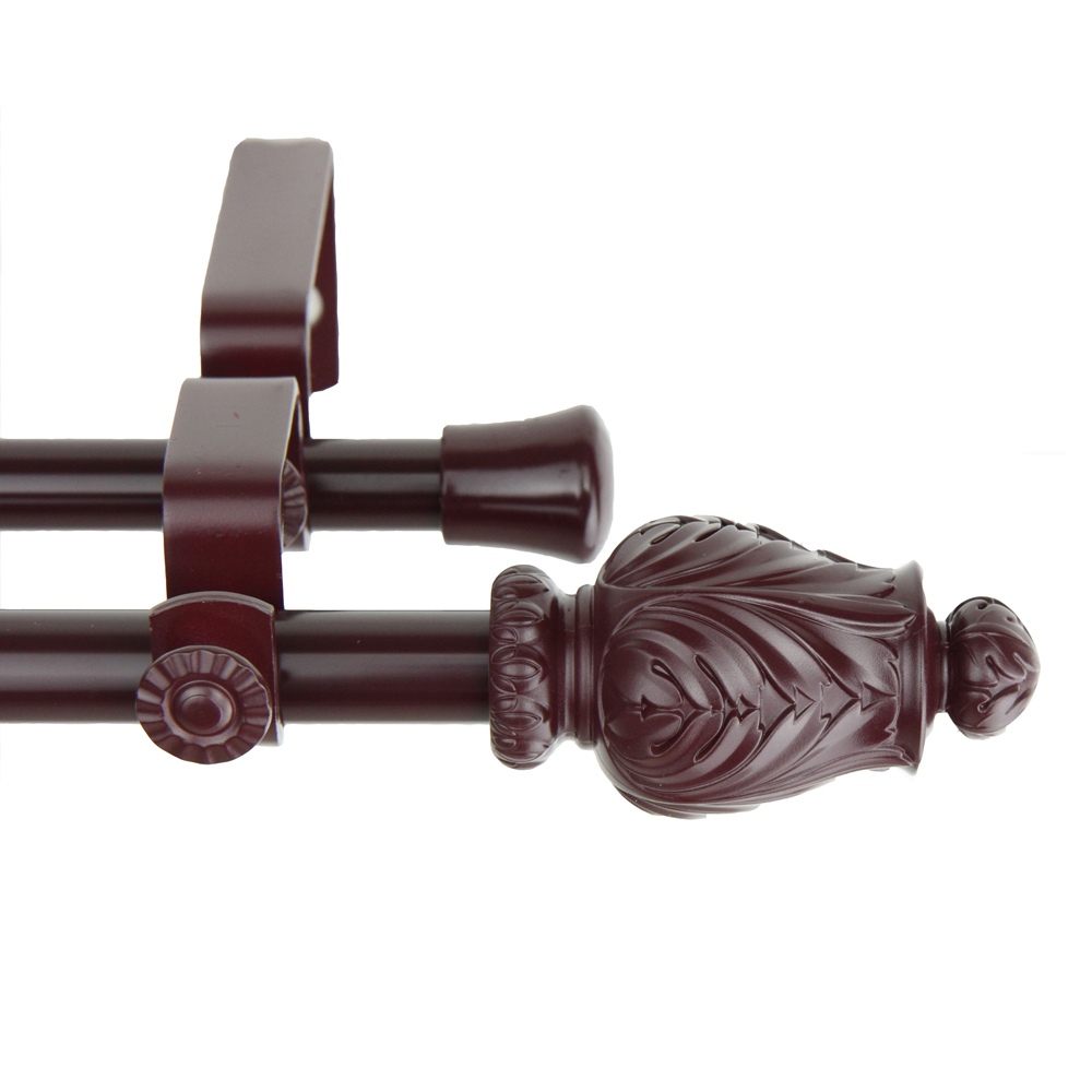 ... Double Curtain Rod 84-120 inch-1315-5704-846D - Curtain Rods & Finials