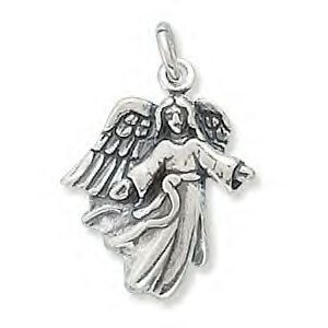 .925 Sterling Silver - Angel With Open Arms Charm