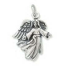 .925 Sterling Silver - Angel With Open Arms Charm - $17.00