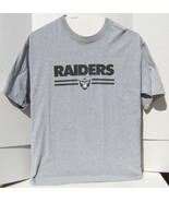 Pre-Owned NFL Oakland Raiders AFC West Short Sleeve XL T- Shirt - $14.95