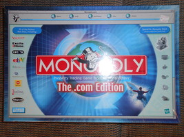 Monopoly dot com version - $25.00