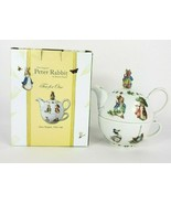 Beatrix Potter Peter Rabbit Barnes & Noble Tea For One Teapot - Cardew D... - $75.00