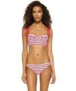 NWT KATE SPADE swimsuit XS bikini 2PC set bralette underwire poppy corse... - $96.99