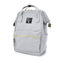 Anello Official Japan Light Grey Regular Backpack Rucksack Diaper Travel... - $64.99