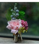 flower Boutonniere groomsmen breastpin corsage wedding breastpin prom corsageC26 - $49.00