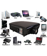 1080-HDMI HD Home Theater Multimedia LCD Projector TV DVD Paystation BES... - $199.94