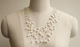 Bridal Necklace pearl Necklace Wedding Vintage Necklace Wedding Jewelry ... - $99.00