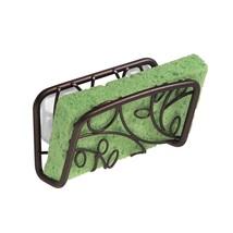 Kitchen Sink Rack Interdesign Bathroom Sponge Soap Holder Drainage Sucti... - $16.99