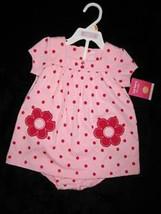 GIRLS 12 MONTHS - Carter's - Pink & Fuchsia PANTIES & DRESS SET - $9.00