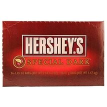 Product Of Hersheys, Special Dark Chocolate Bar, Count 36 (1.45 oz) - Ch... - $37.95