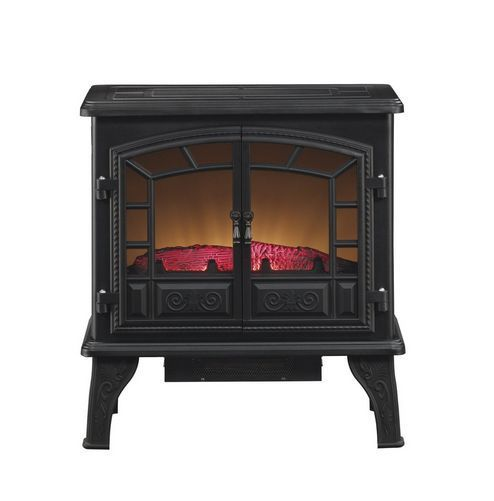 heater electric fireplace digital compact portable living room bedroom