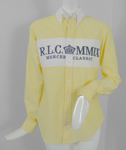 NEW NWT Polo Ralph Lauren Womens Mercer Classic Embroidered Oxford Shirt... - $89.99