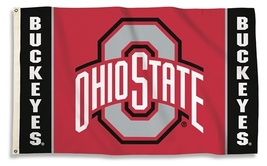 Ohio State Buckeyes 3'x5' Flag with Grommets  - $35.95