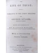 1861 George Muller 1st Edition Life Of Trust Christian Book - $200.00
