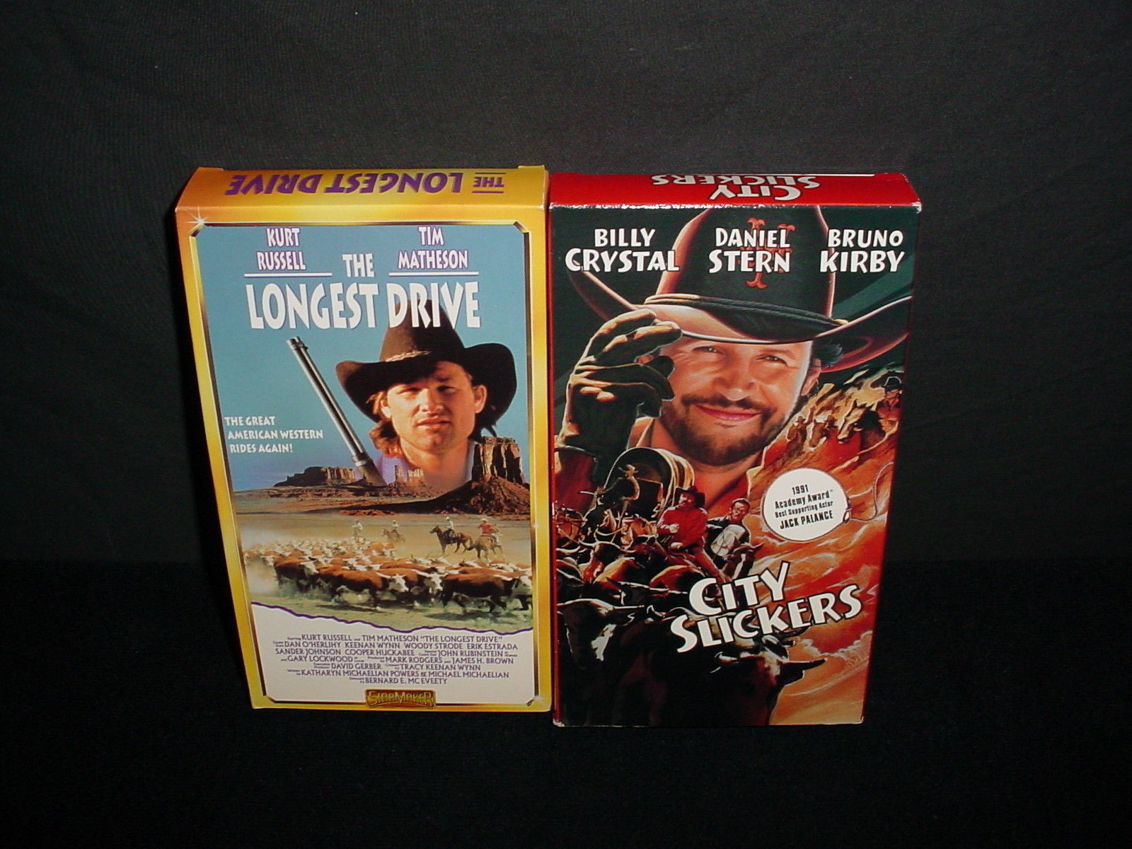lot of 5 westerns cowboys video tape vhs movies videos