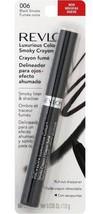 Revlon Luxurious Color Smoky Crayon, Black Smoke # 006, 0.035-Ounce, 1 each - $8.95
