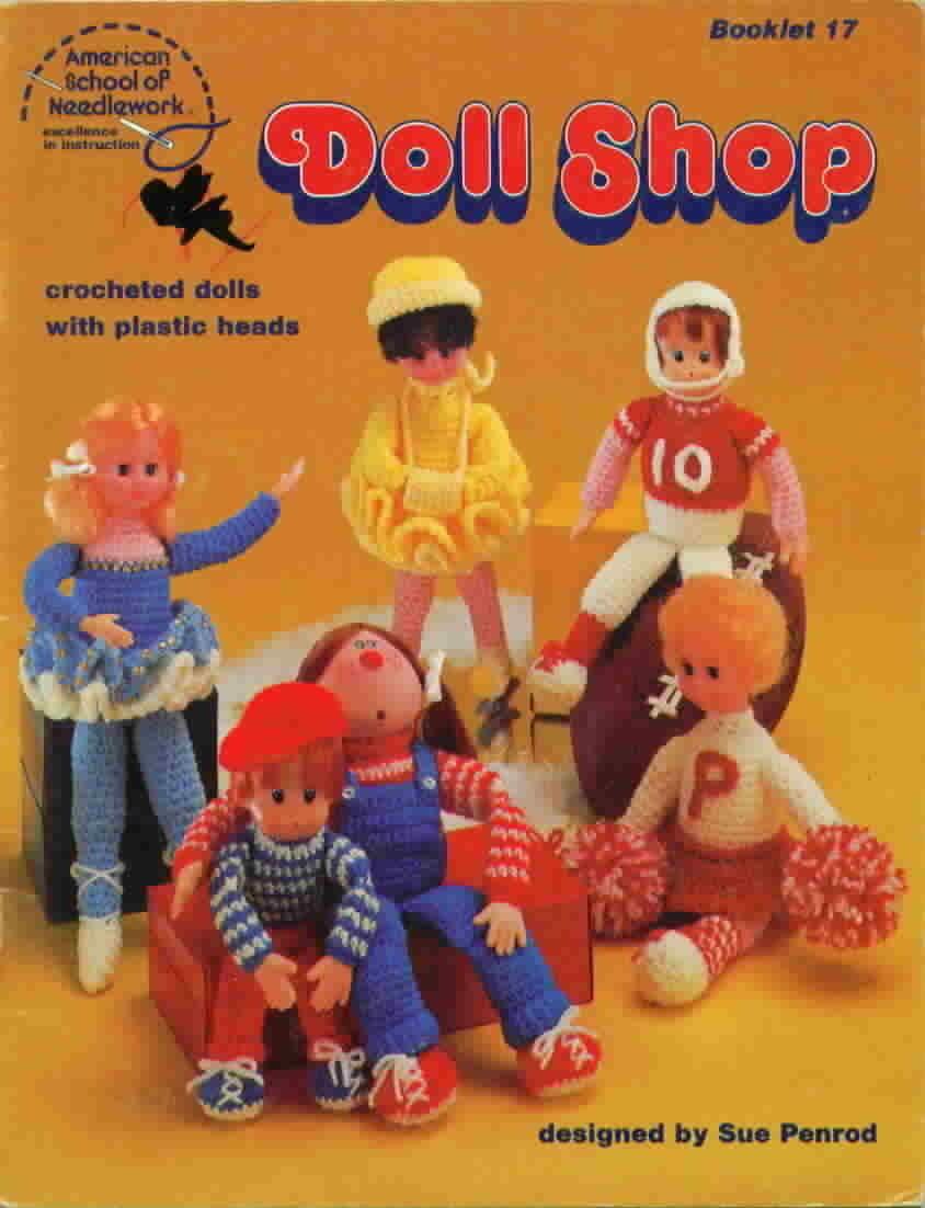 American school of needlework doll shop crochet