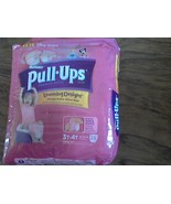 Huggies pull ups training pants learning designs girls size 3T-4T - $5.00