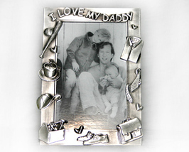 Pewter 4x6 Picture Frame for Daddy - $10.99