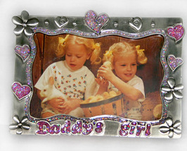 Pewter 4x6 Picture Frame for Daddy's Girl - $10.99