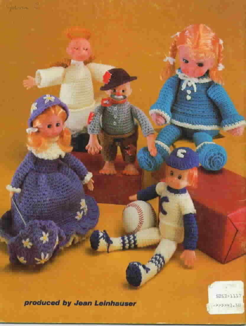 Vintage American School of Needlework Doll Shop Crochet