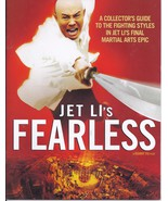 JET LI's FEARLESS - Collector's guide to fighting styles on Jet Li's fin... - $7.50