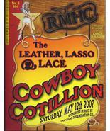 Ronald McDonald House Charity May 2007 Cowboy Cotillon, Las Vegas Program - $9.95