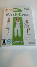 Wii Fit Plus Game (Wii, 2009) In Case Complete With Manual - $9.89