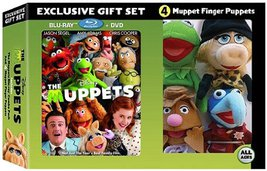 The Muppets Gift Set (Includes The Muppets Blu-Ray Combo Pack and 4 Mupp... - $64.99