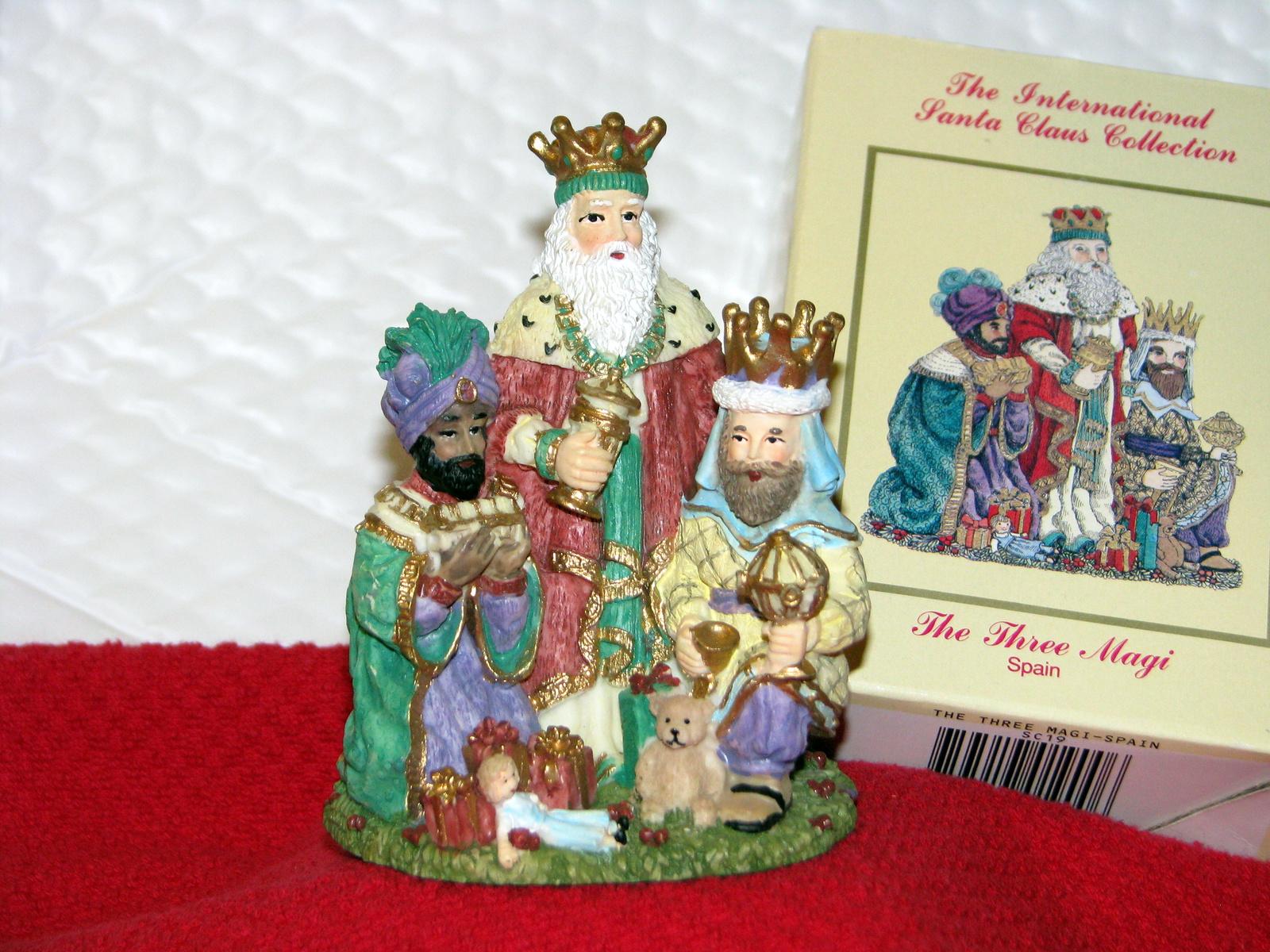 The three magi spain international santa claus