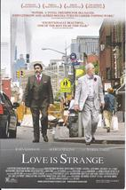 JOHN LITHGOW ALFRED MOLINA MARIS TOMEI in Love Is Stange Vegas Promo Card - $1.95
