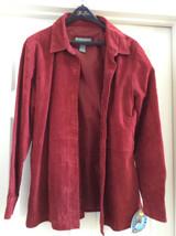NEW: Jessica Holbrook  Easycare 100% Genuine Leather  - Large Basic Jacket - $118.79