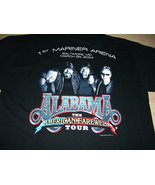 Alabama Vintage 2004 Farewell Tour T-Shirt Baltimore, Maryland 1st Marin... - $15.98