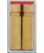 "Wooden Needle Cases 2/pkg 2.25"" long cross stit... - $4.50"