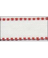 "14ct  Red-White aida banding 1.18""w x 36"" (1yd) Zweigart  - $4.50"