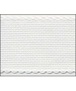"14ct  white aida banding 2""w x 36"" (1yd) Zweigart  - $5.80"