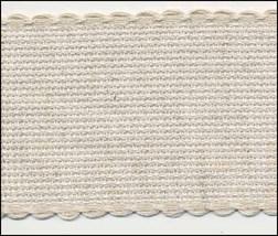 "14ct  natural-natural aida banding 2""w x 10.93 yds Zweigart  - $59.40"