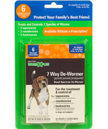 Sentry HC WormX Plus 7-Way De-Wormer for Puppies and Small Dogs - 6 tabs - €21,36 EUR