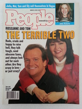 People Magazine March 29 1993 Roseanne Tom Arno... - $11.99