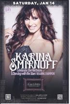 KARINA SMIRNOFF @ GALLERY Nightclub Las Vegas Promo Card - $1.95