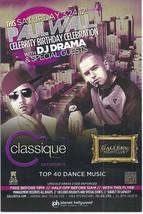 PAUL WALL & DJ DRAMA @ GALLERY Nightclub Las Vegas Promo Card - $1.95