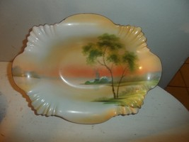 Vintage Noritake Japan Bowl Hand Painted - $19.75
