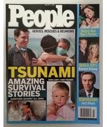 People Magazine 2005 January 17 Tsunami Indonesia Thailand India Sri Lanka - $11.99