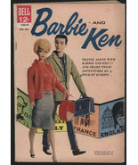 Barbie And Ken Comic Book # 2 ~ 1962 ~ By Dell Co Very Rare & Highly Col... - $94.99
