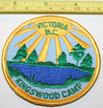 Girl Guides Victoria BC Kingswood Camp Canada Badge Label Patch - $8.17