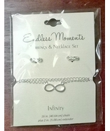 Endless Moments Infinity Jewelry Set New With Tags - $3.99
