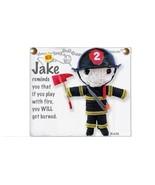 Kamibashi Jake the Firefighter The Original String Doll Gang Keychain Clip - $10.99
